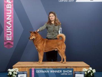 Hansol BOB German winner show 2017 klein